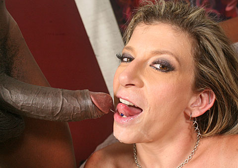 Huge breasted Sara Jay enjoys having interracial sex from Blacks on Cougars