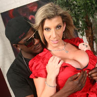 Busty Sara Jay banged hard by a big cocked black guy from Blacks on Cougars