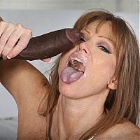 mature interracial cougar9 tn Darla Crane bends over to get her ass filled with a black cock