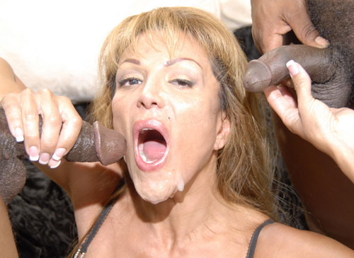 cob2 3 Amateur mature babe wants two black cocks in the same time